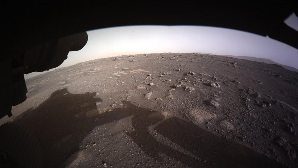 NASA revela el primer video del aterrizaje de su vehículo Perseverance en Marte