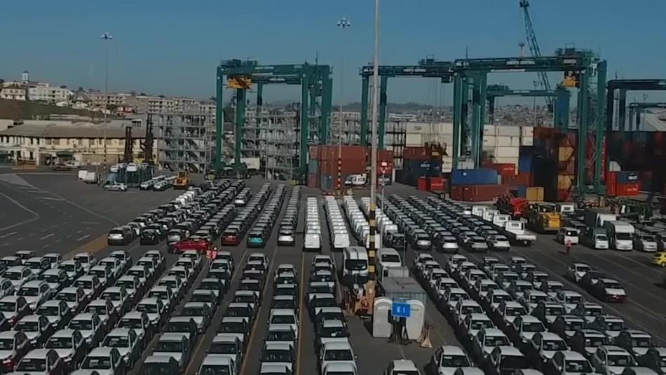 Enero tuvo récord en llegada de autos nuevos al puerto de San Antonio desde 2019