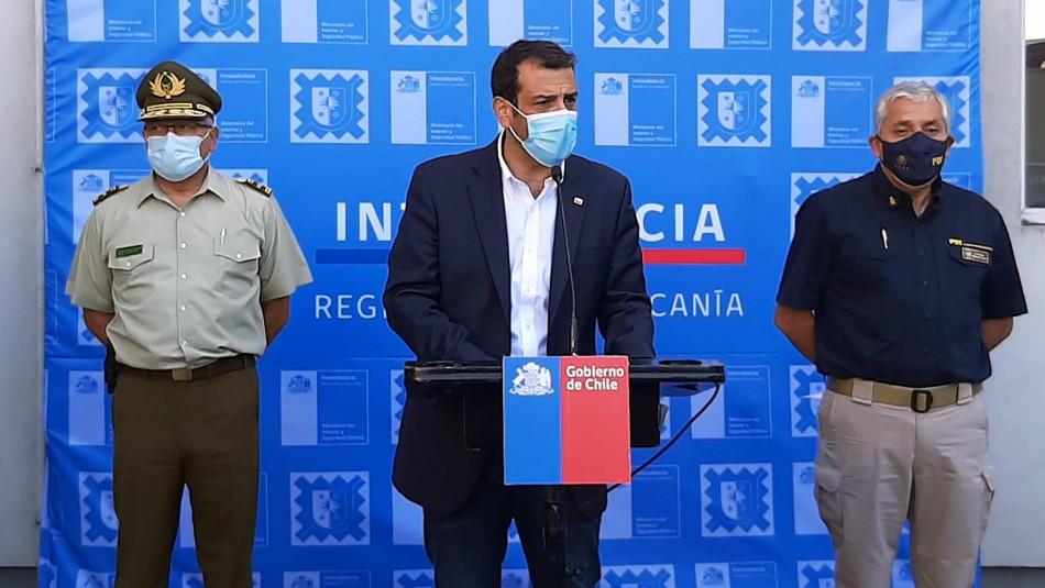 Delgado por violencia en La Araucanía: