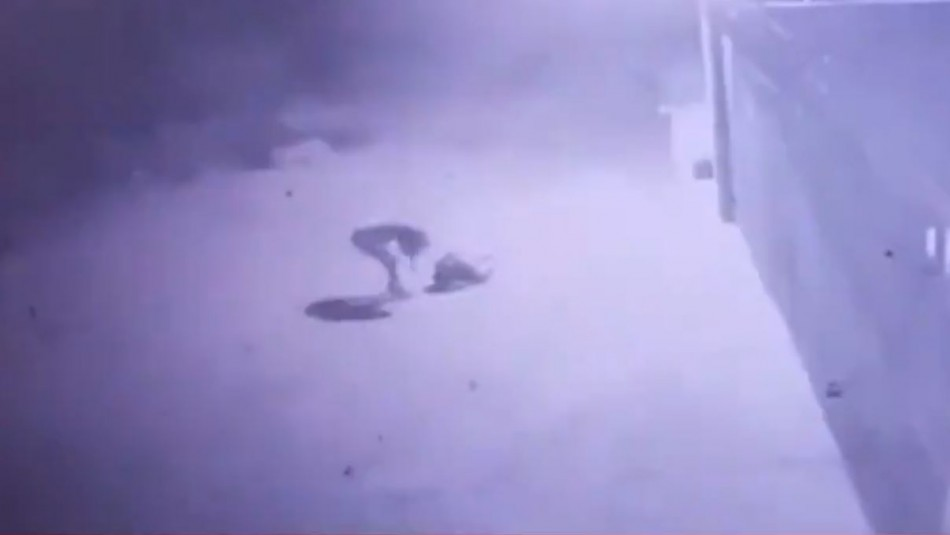 Hombre sufre descarga eléctrica tras intentar robar cobre de un conductor de energía