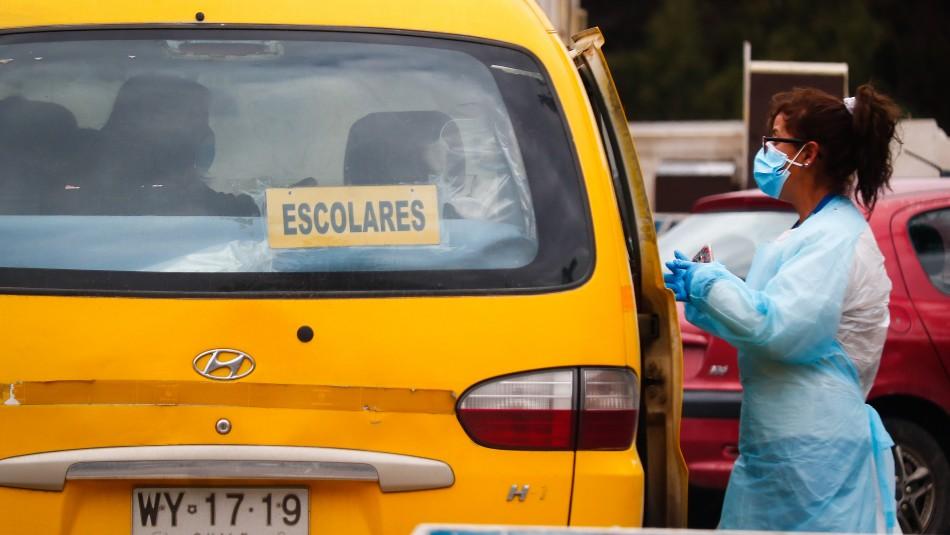 Mascarilla obligatoria: Autoridades entregan recomendaciones para uso del transporte escolar