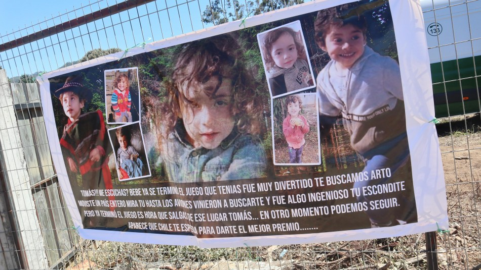 Caso Tomás Bravo: Bomberos de todo el país se sumarán a la búsqueda del menor