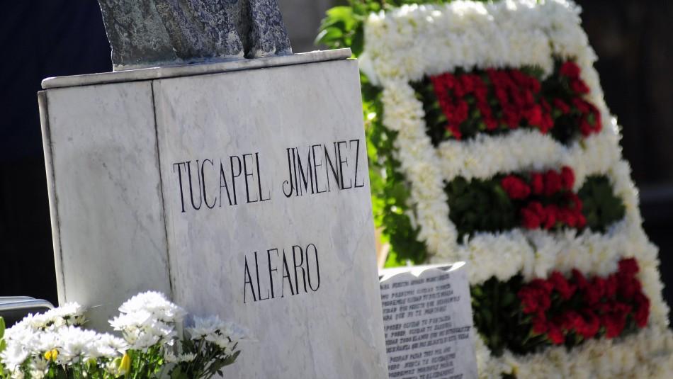 Estuvieron Narváez, Jadue y Sánchez: Conmemoran 39 años de la muerte de Tucapel Jiménez