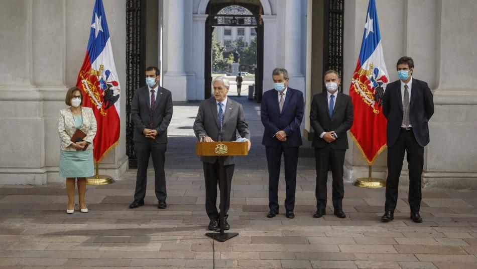 Piñera pide coordinación a todos los poderes del Estado para resolver violencia en La Araucanía