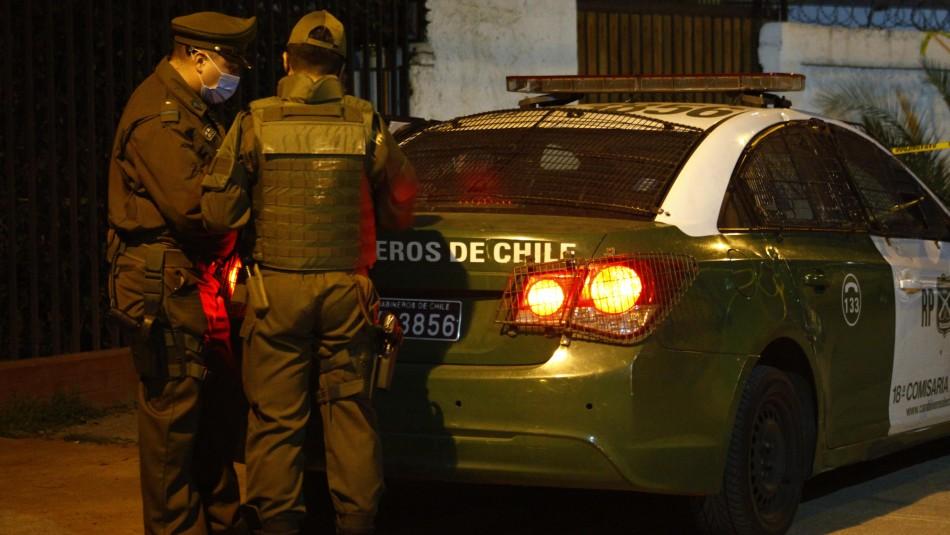 Asaltante muere baleado por carabineros que frustraron robo en la comuna de Independencia