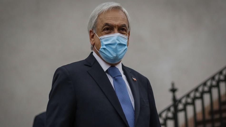 Piñera anuncia que buscará extender el estado de Catástrofe: