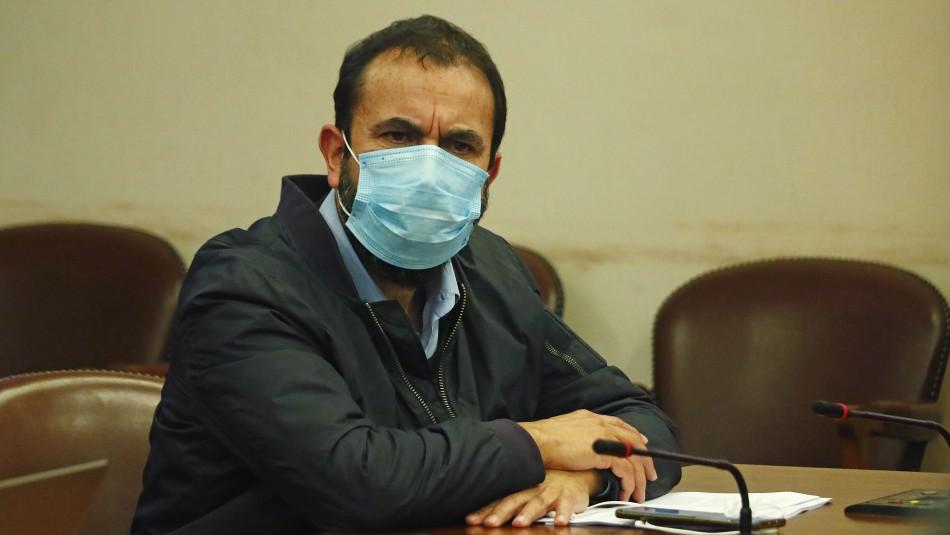 Este miércoles formalizan a Hugo Gutiérrez por amenazas contra funcionarios de la Armada
