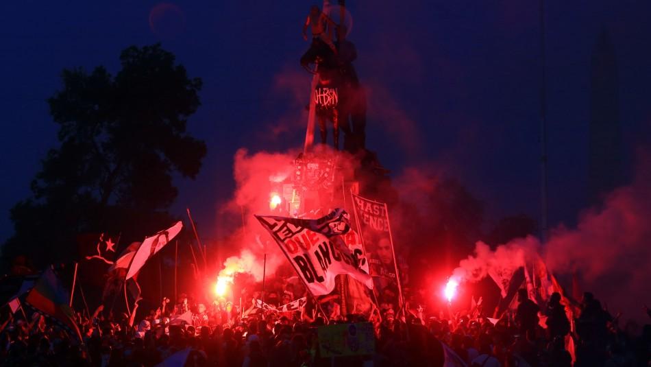 Intendente y quema de monumento: