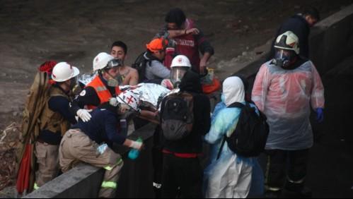 Caso Mapocho: Excarabinero reconoce que no tenía la orden de arrestar a joven que cayó al río