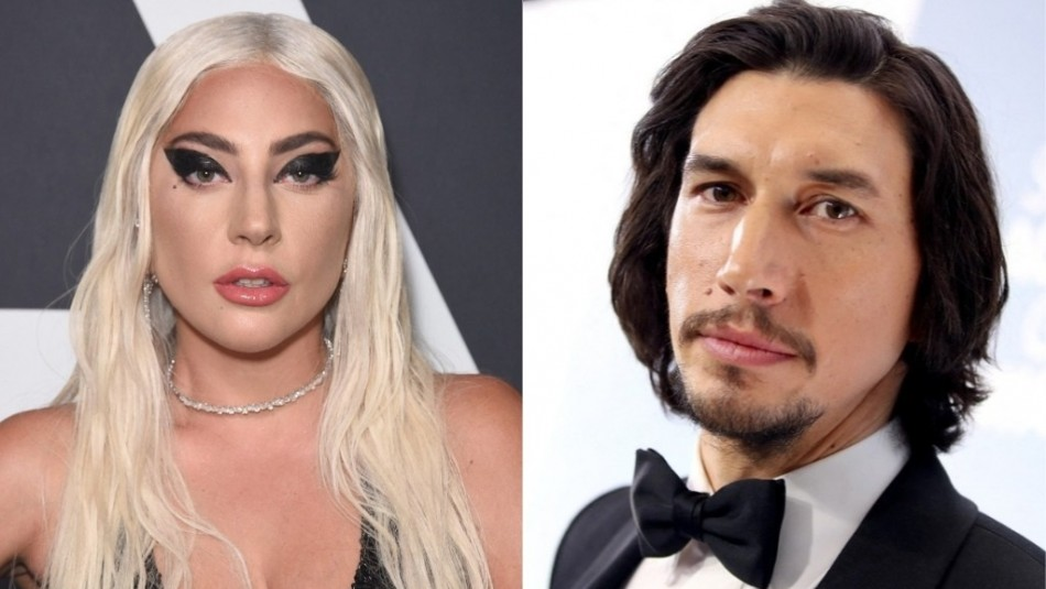Así lucirán Lady Gaga y Adam Driver en la cinta