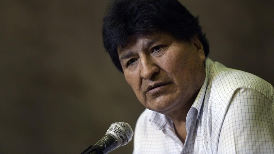 Evo Morales pide sanción a