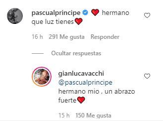 Pascual le comenta a Gianluca