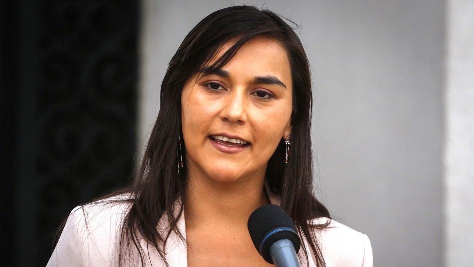 Izkia Siches reafirma diferencias con el Gobierno pero admite error en uso de sus palabras