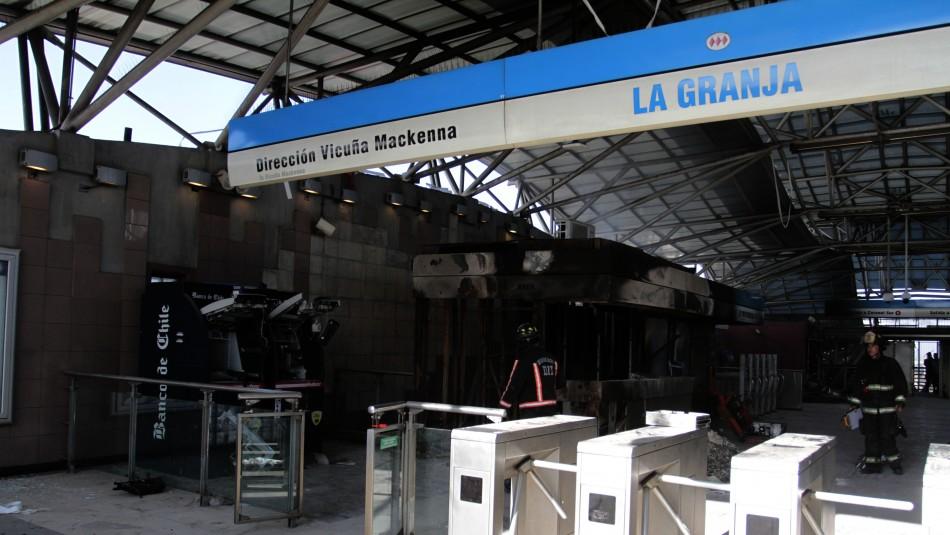 Dictan veredicto condenatorio contra acusados de ataques a estación La Granja en 2019