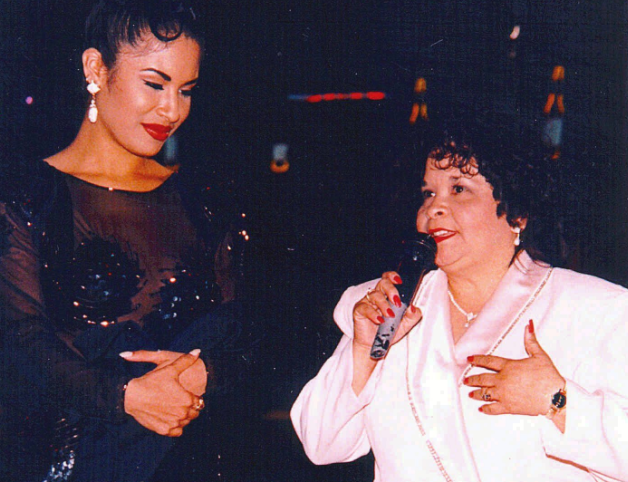 Selena Quintanilla y Yolanda Saldívar
