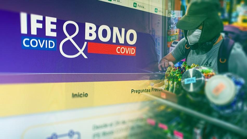 IFE y Bono Covid: Revisa cuándo comienzan las postulaciones para el pago de abril
