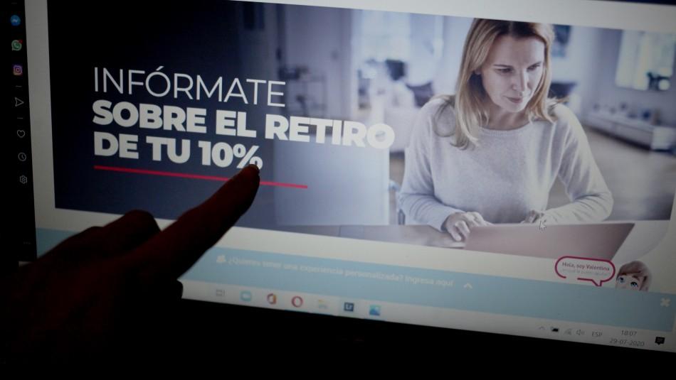 RN pide a Piñera liderar tercer retiro del 10%: