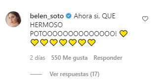 Comentario de Belén Soto
