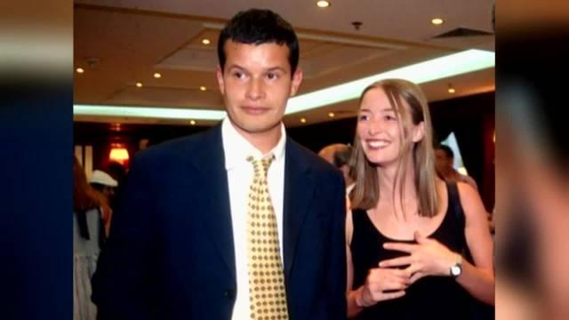 Felipe Bianchi y Consuelo Saavedra cuando estaban casados