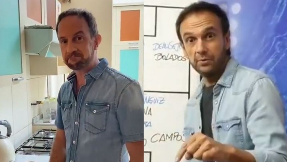 Stefan Kramer y Rodrigo Sepúlveda