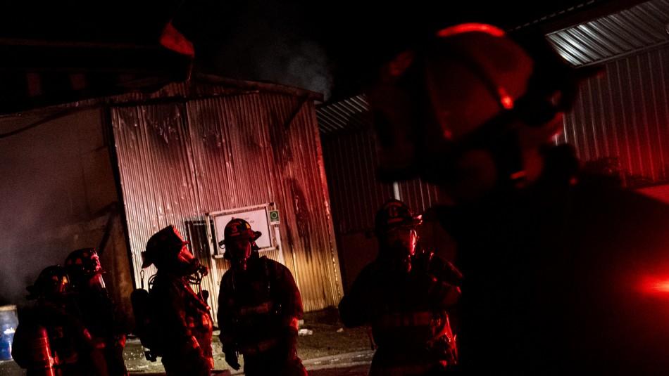 Incendio en caballeriza de Colina: Los animales no pudieron escapar