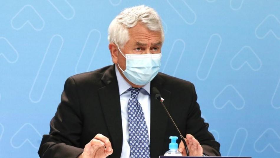 Ministro Paris tras dichos de Mañalich por inmunidad de rebaño: