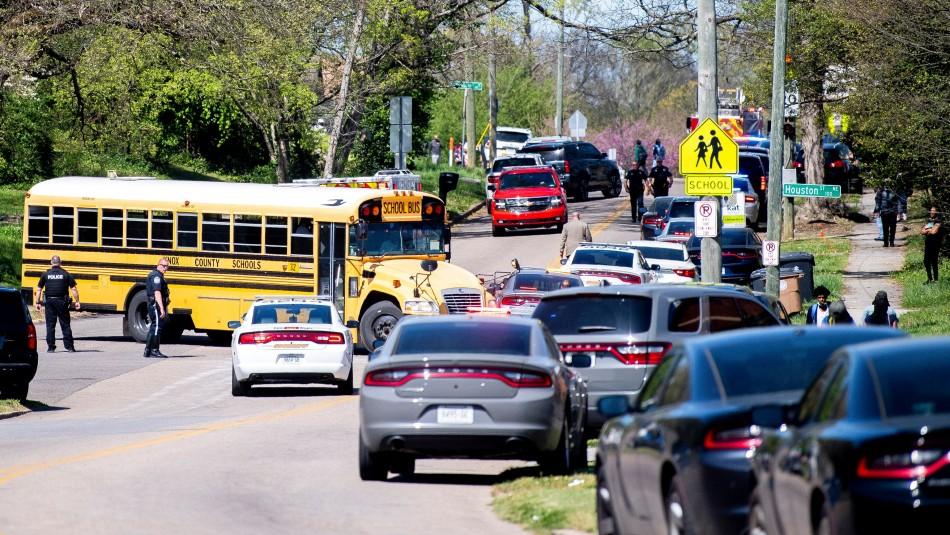 Tiroteo en escuela de Tennessee: Un muerto y varias personas heridas