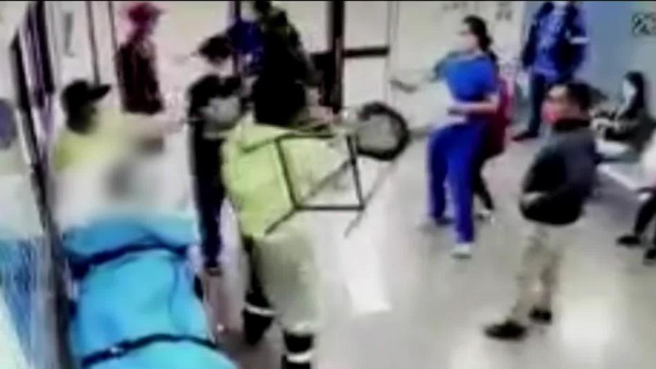 Brutal agresión a personal de salud en el Hospital de Chillán: hay dos funcionarios lesionados
