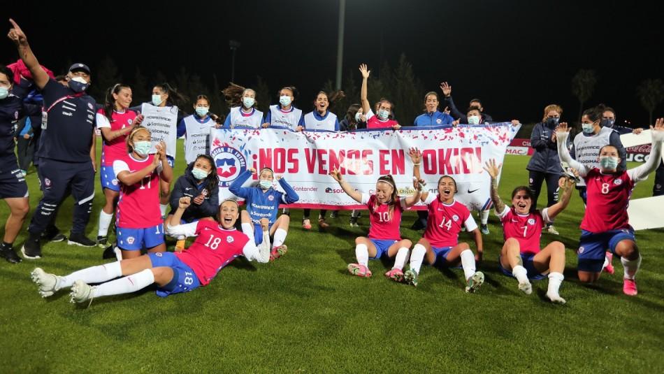 Selección Chilena Femenina clasifica a Tokio 2021.