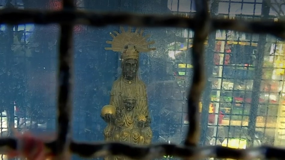 Virgen de Montserrat, patrona del mundo del hampa.