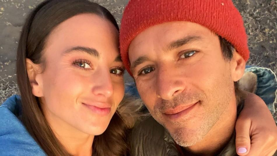 Isidora Ureta y su novio
