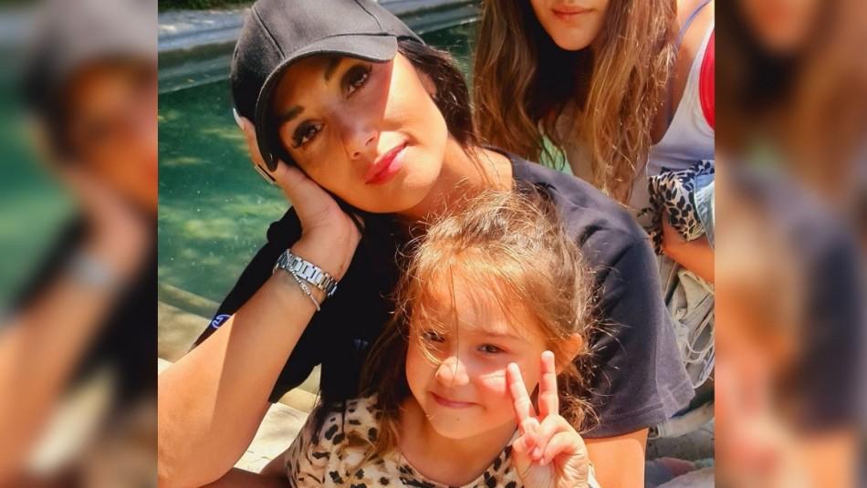 Pamela Díaz y su hija Pascuala