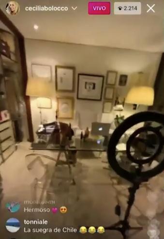 La casa de Cecilia Bolocco