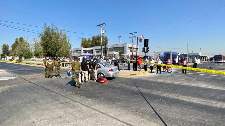 Dos personas que huían tras balacera mueren en fatal accidente.
