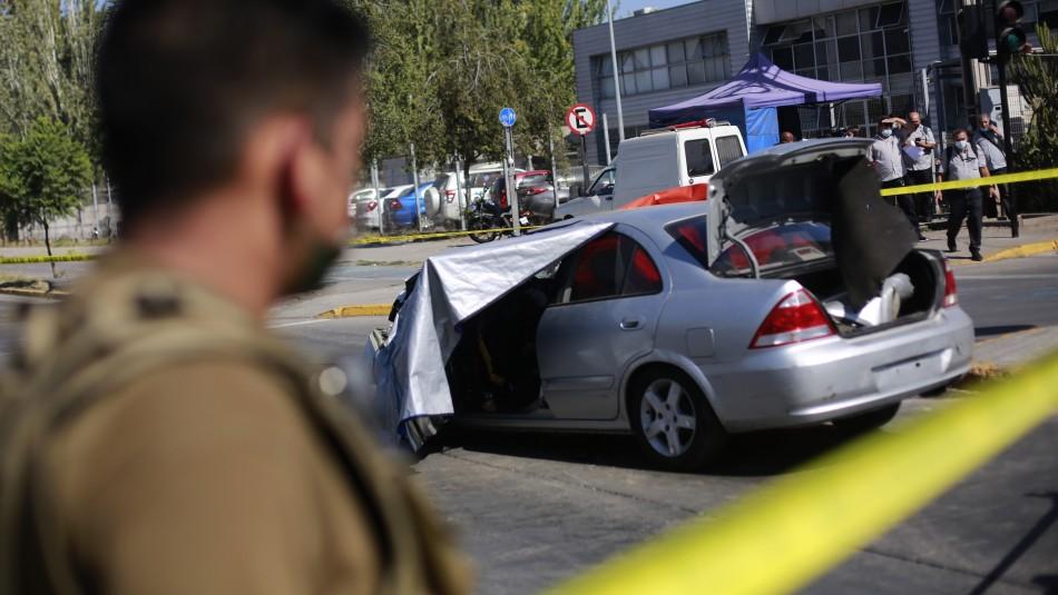 Video capta accidente que dejó dos muertos en La Pintana: Una de las víctimas estaba embarazada
