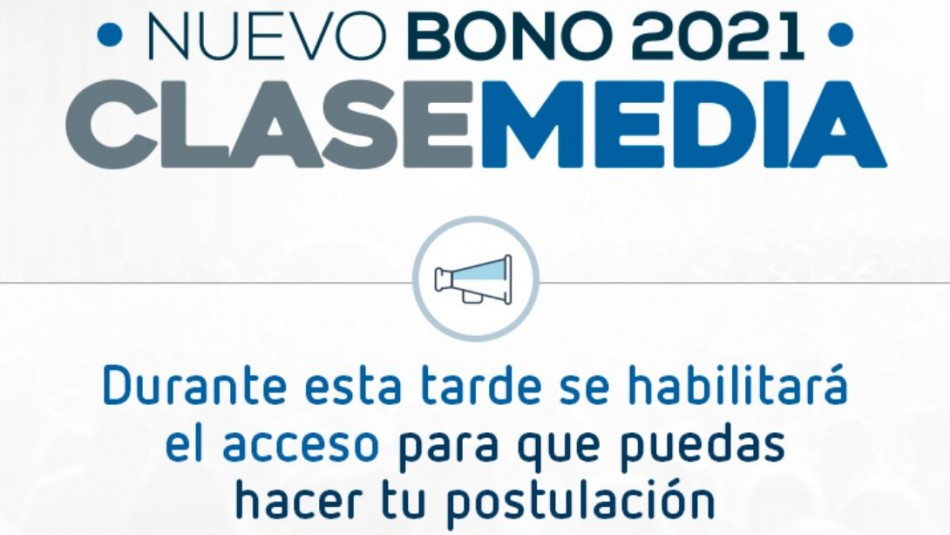 Bono de Clase Media: SII informa que solo esta tarde se habilitará acceso a postulación