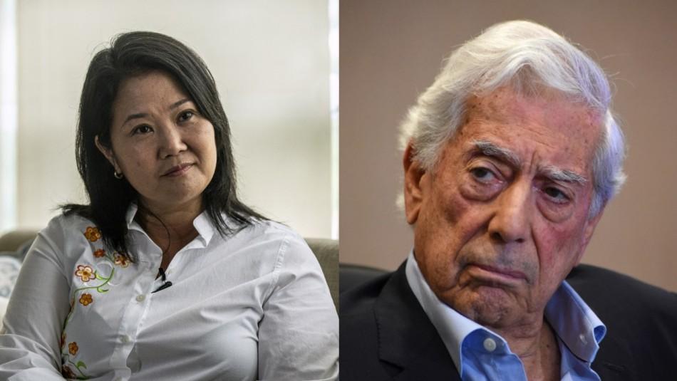 Mario Vargas Llosa hace llamado a votar por Keiko Fujimori: