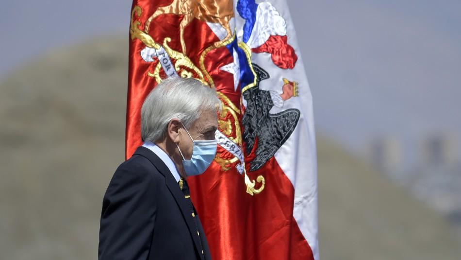 Cadem: Aprobación de Piñera se mantiene en 16% y desaprobación en 73%