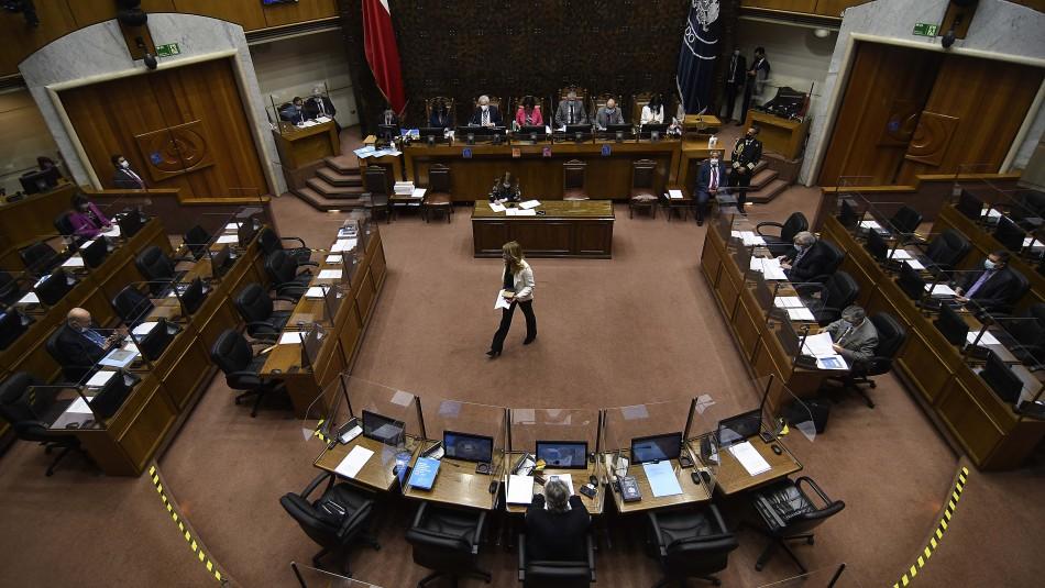 Senadores de oposición y oficialismo que apoyan el tercer retiro de 10%