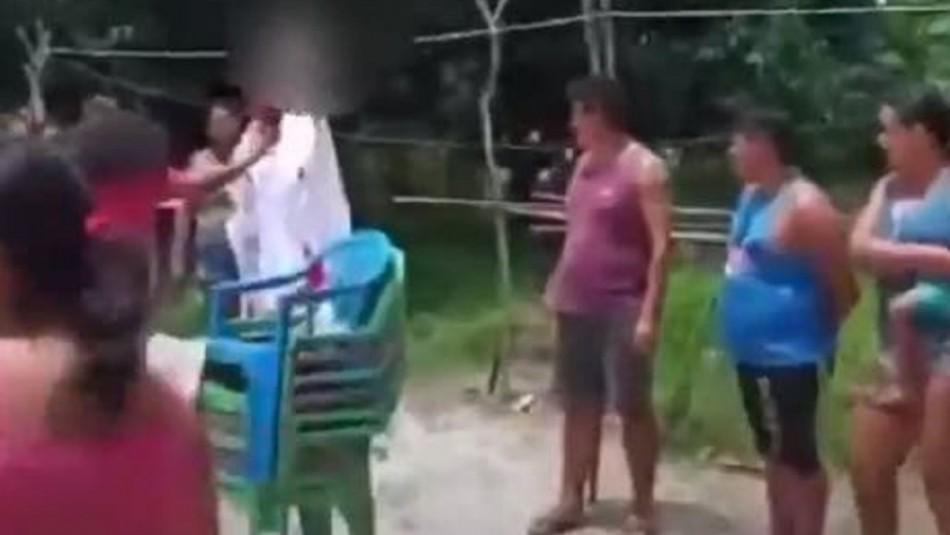 Rescatan a tres niños torturados en ritual religioso para