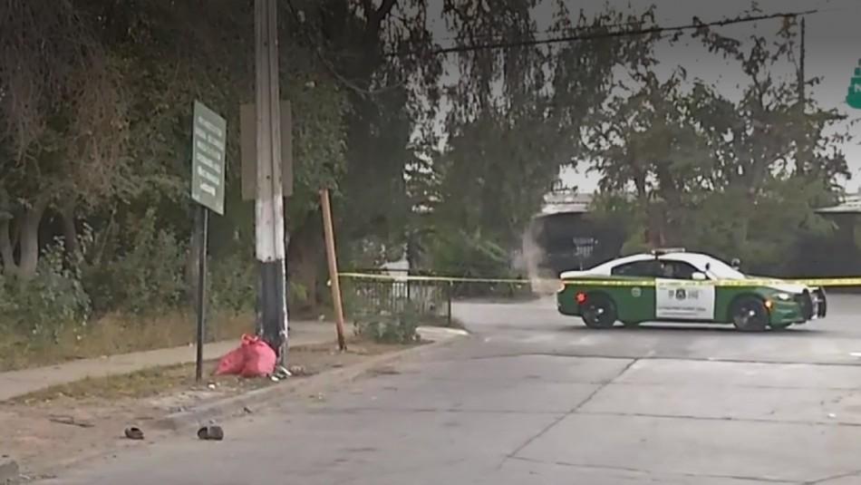 Hombre muere baleado en Pedro Aguirre Cerda.