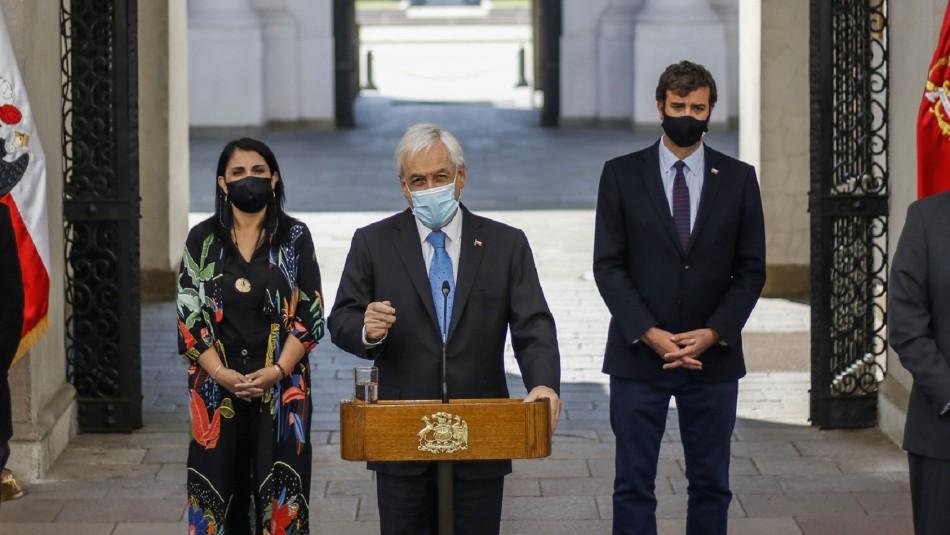 Presidente Piñera amplia cobertura y monto del IFE.