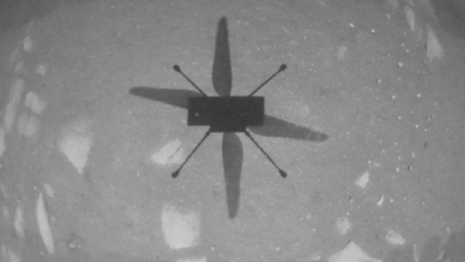 Helicóptero de la NASA realizó histórico primer vuelo en el planeta Marte