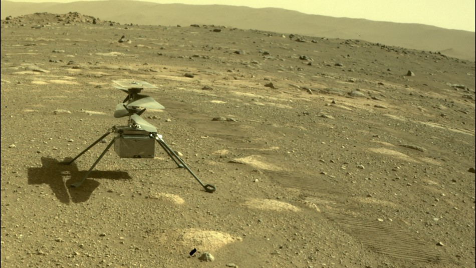 Helicóptero Ingenuity de la NASA consigue volar con éxito en Marte