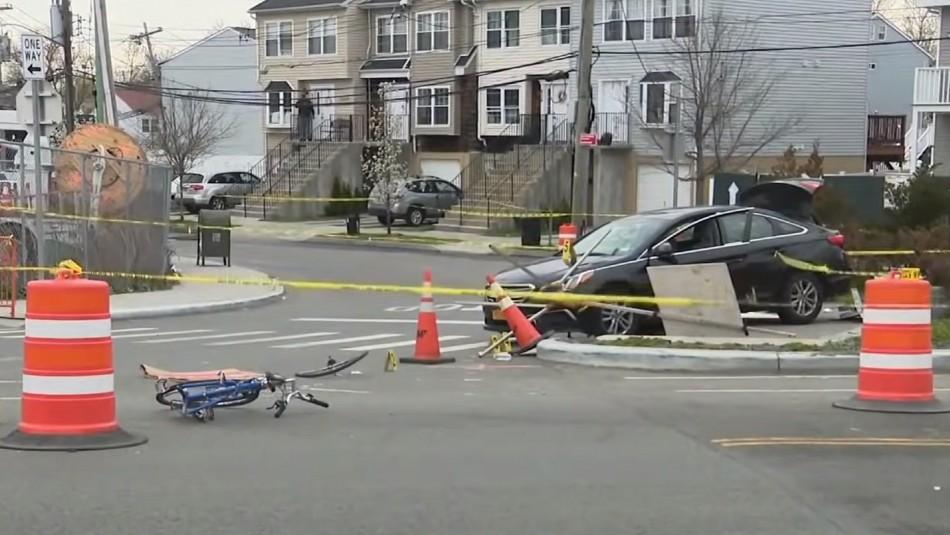 Asesinó a la mujer que le gustaba y el novio de ella lo arrolló con su auto