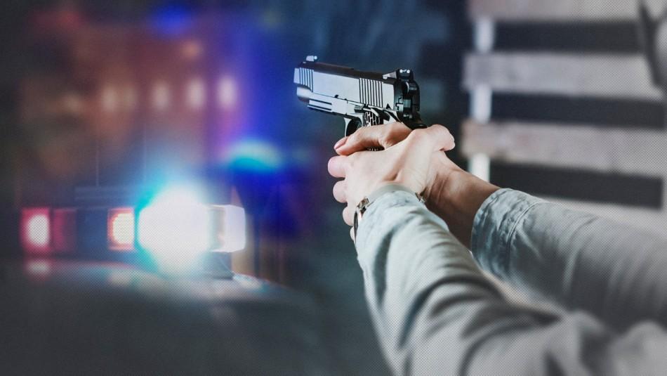 Hombre dispara en contra de Carabineros para evitar su detención en Quilicura