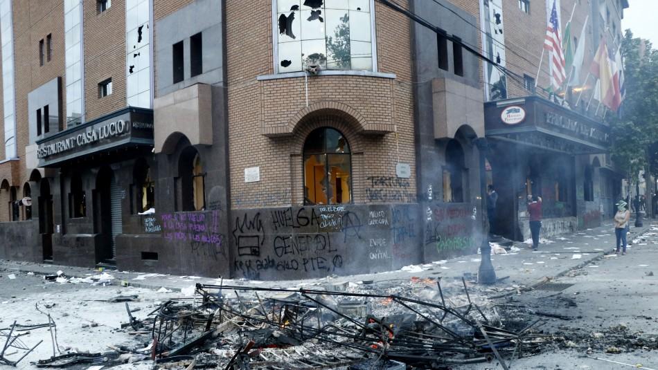 Absuelven a los tres acusados de incendiar el Hotel Principado de Asturias