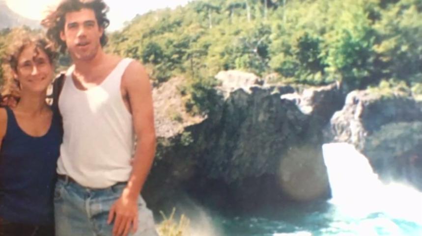 Álvaro Escobar y Amparo Noguera en su juventud