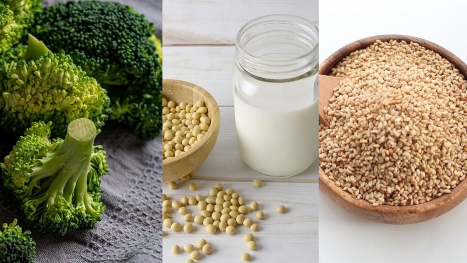 No todo es leche: Conoce 5 alimentos con alto porcentaje de calcio y que no son de origen animal