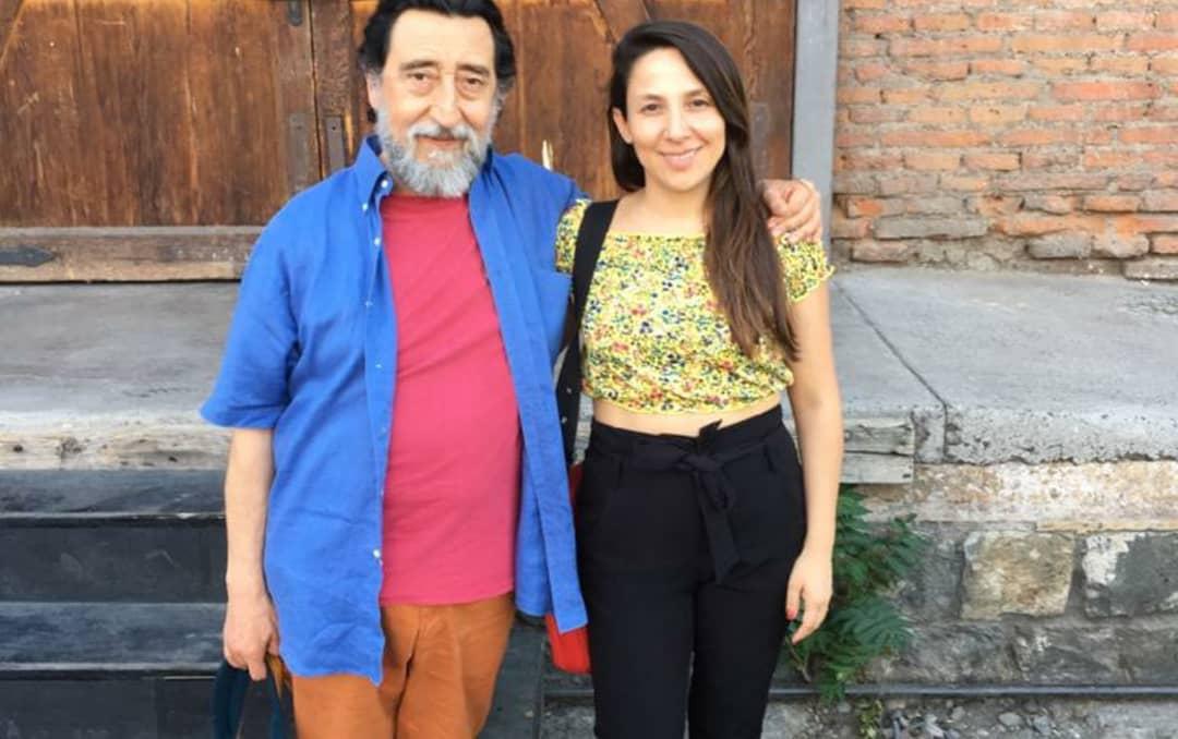 José Soza y una fan